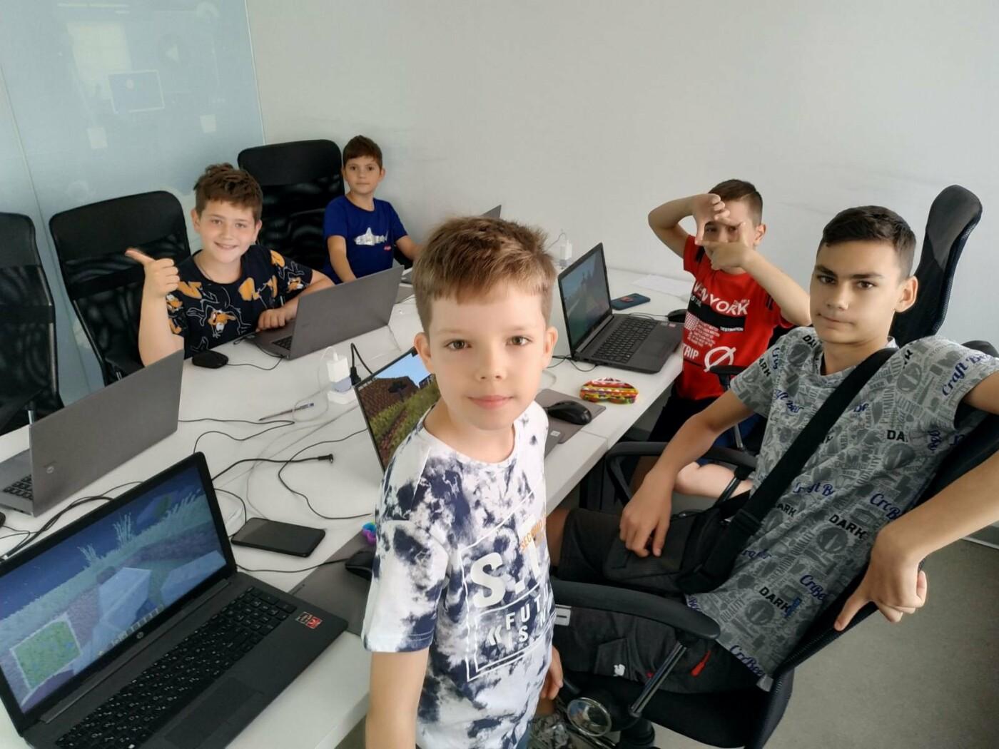 В Мариуполе закончилась вторая смена IT-лагеря для детей!, фото-6