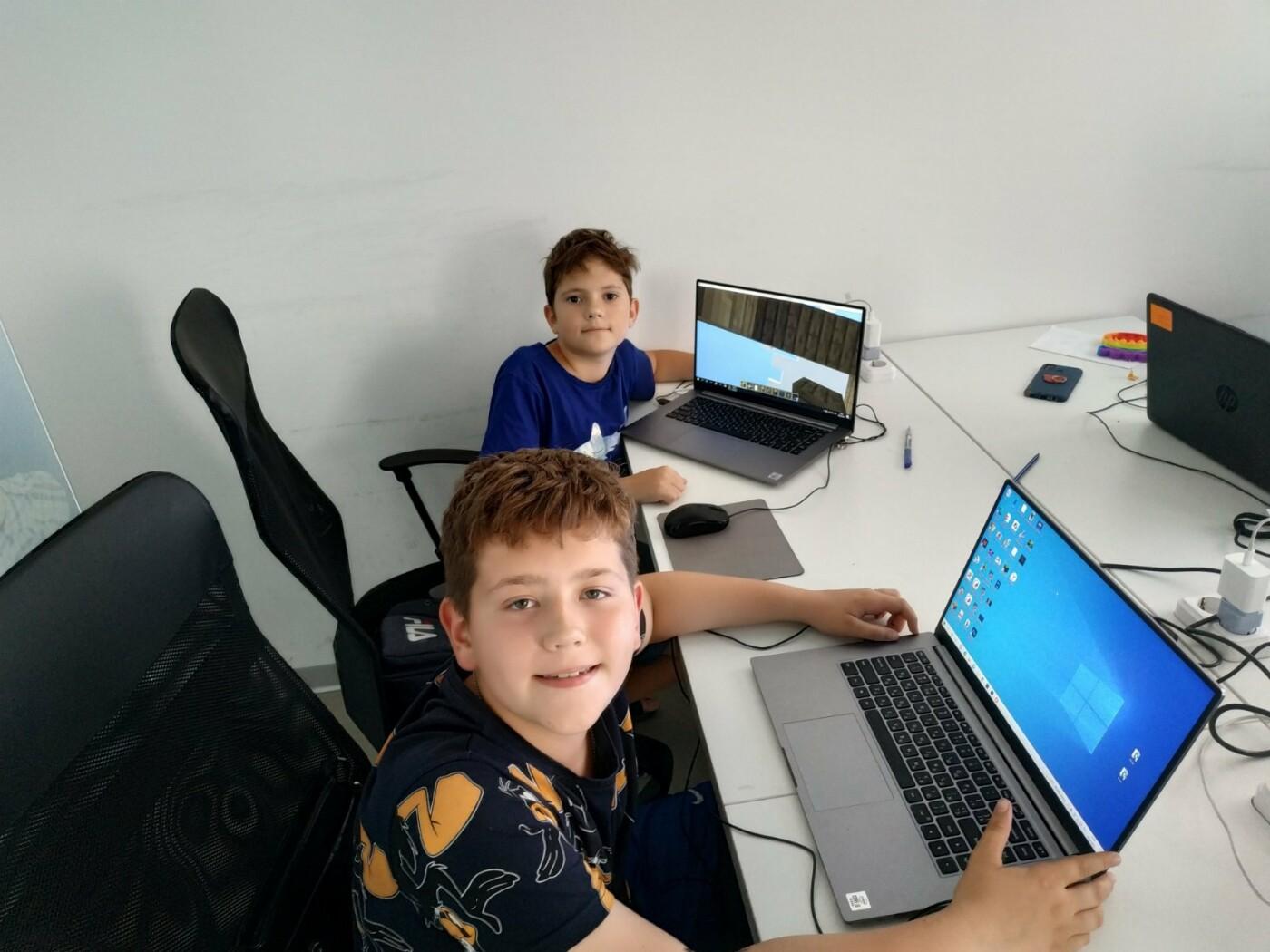 В Мариуполе закончилась вторая смена IT-лагеря для детей!, фото-3
