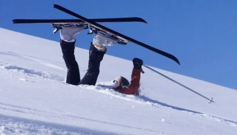 страховка для лыжников